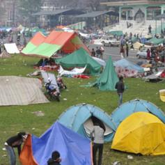 Группа российских туристов застряла в Катманду