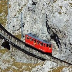 Путешествие под углом: самая крутая железная дорога в мире