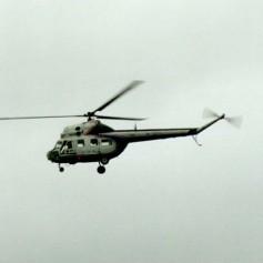 В Крым через пролив — за 8 минут: На переправе заработало вертолетное такси