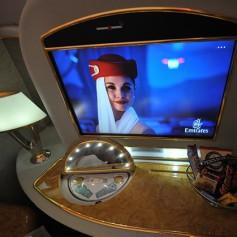 Авиакомпания «Эмирейтс» показала, как летают шейхи и королевские особы