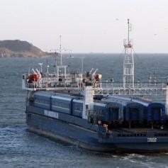 Число перевезенных на Керченской переправе пассажиров за год удвоилось