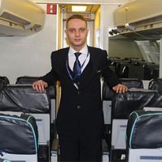 Родившийся в самолете житель Турции стал бортпроводником