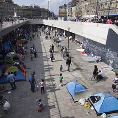 В Будапеште приостановили международное железнодорожное сообщение