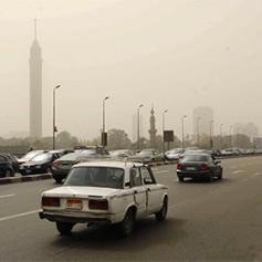 Задержавшиеся из-за песчаной бури в Египте туристы вылетели в Россию