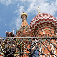 С начала года Москву посетили два миллиона иностранцев