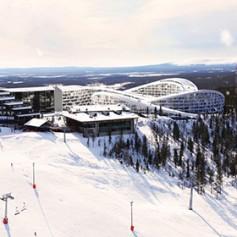 В Финляндии горнолыжникам предложат кататься по крышам