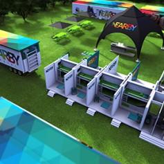 Хорваты придумали передвижной хостел для музыкальных фестивалей