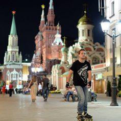 В России уменьшилось число иностранных туристов
