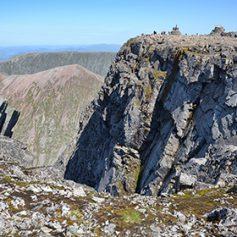Альпинист погиб после падения с самой высокой горы Великобритании