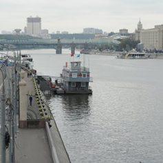 Сезон зимней навигации на Москве-реке откроется в конце октября