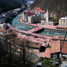 В Альпах решили построить «стекающий» с горы отель