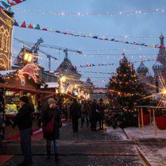 Интерес иностранных туристов к новогодней России вырос на треть