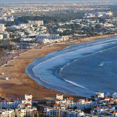 Число российских туристов на главном курорте Марокко выросло в три раза