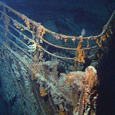 Британцы в 2018 году отправят подводную экскурсию к месту крушения «Титаника»