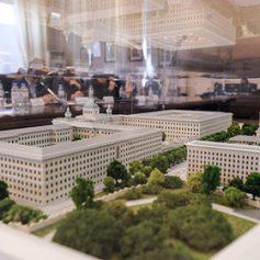 Здание бывшей академии РВСН в центре Москвы превратят в отель