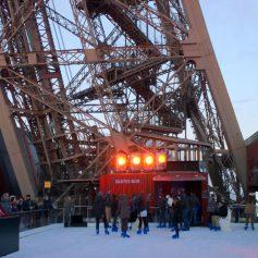 В Париже открыли роликовый каток на высоте 210 метров над землей