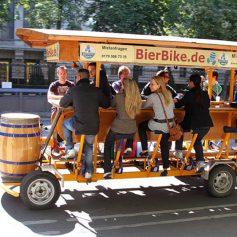 Амстердам отказался от «пивных велосипедов»