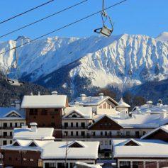 Снежный отель откроется в горах Сочи