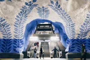 Названы самые красивые станции метро в мире