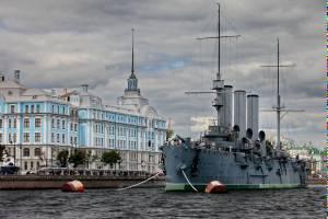Крейсер «Аврора» встал в один ряд с Эйфелевой башней и Тадж-Махалом