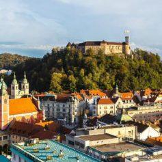 Любляна — самая зеленая столица в ЕС, показали снимки со спутника