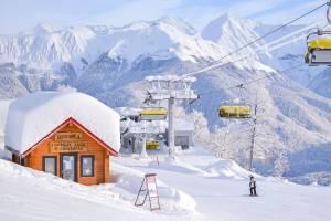 Сколько стоит единый ски-пасс на курортах в Сочи