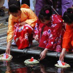 Хинамацури: церемония плавающих бумажных кукол Хина в Токио