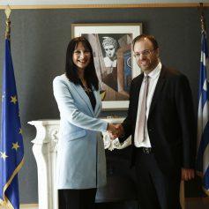 В Греции новый министр туризма