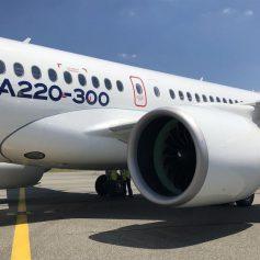 Авиакомпания Air France закупит более полусотни новейших самолетов Airbus А-220