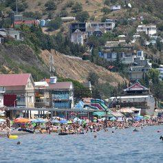 В Крыму сообщили о значительном росте потока туристов с Украины