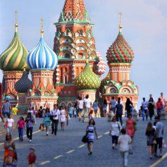 За пять лет РФ посетило более 125 млн иностранных туристов