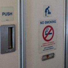 Курильщиков в самолетах призывают сосать специальные конфеты
