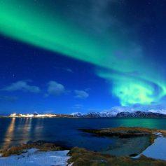 5 вполне доступных мест, откуда дешевле всего наблюдать за северным сиянием