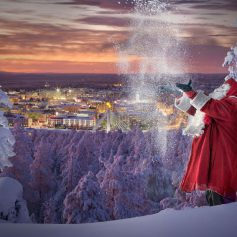 Шведы не поделили с финнами Санта-Клауса