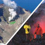 Новозеландский вулкан не подпускает спасателей забрать погибших туристов и гидов