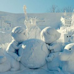 Туристы со всего мира посетят крупнейший Фестиваль снега в Саппоро