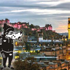В Эдинбурге вандалы обмазали клеем туалеты у популярных достопримечательностей
