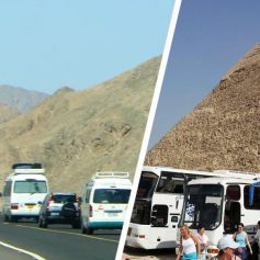 Министр проверил систему слежки за туристическими автобусами Египта