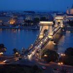 Достопримечательности мира: Цепной мост Сечени в Будапеште (Венгрия)