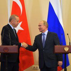 Путин и Эрдоган обсудили возможность восстановления туризма