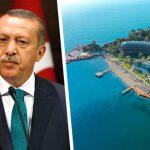 Самый дешевый номер в отеле, открытом Эрдоганом в Анталии, начали продавать по 408 700 рублей