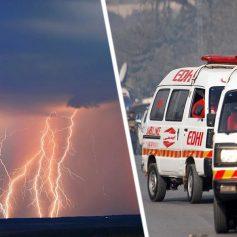 Удар молнии убил 12 туристов во время селфи