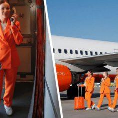 Стюардессам разрешили не носить туфли